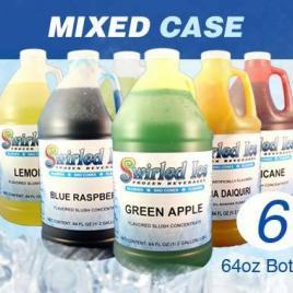 1 cs of Frozen Mix Concentrate- Mixed